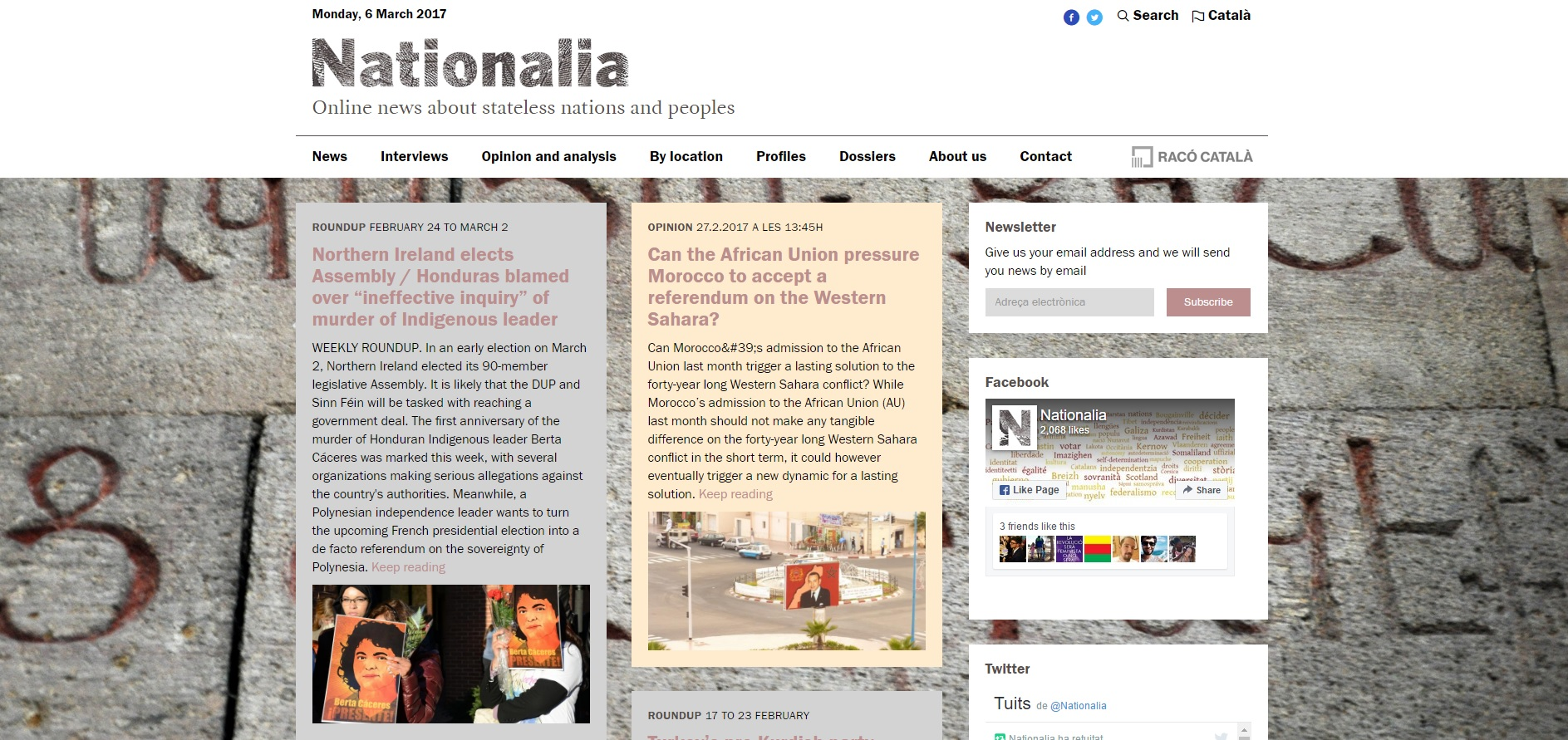 Nationalia Digital Newspaper Photo Nationalia