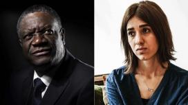 Denis Mukwege and Nadia Murad, Nobel Peace Prize 2018