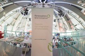 Impression from the 4th European Grid Conference, Atomium, Brussels / Photograph: RGI