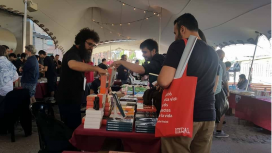 La Literal, a showcase of radical ideas and books. Photo: Marta Rius