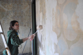 ApS La Murga: refurbishing vulnerable households. Photo: Escoltes Catalans