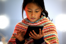 The Internet and ICTs can be a tool to empower children and youths around the world. Photo: ITU Pictures (Flickr)