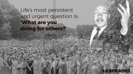 Martin Luther King was one of the most significant leaders of African American movement.