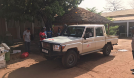 Base of MSF in Bafatá, Guinea Bissau. Source: MSF
