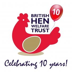British Hen Welfare Logo. Photo: BHWT