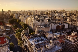 Buenos Aires, the first welcoming city in Argentina. Photo: Wikipedia