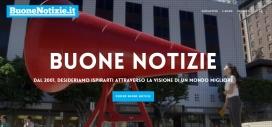 "Digital edition from ""Buone Notizie"". Photo: Buone Notizie"
