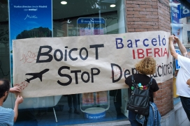 The state campaign to stop deportation flights and close the CIE will continue to intensify this year.