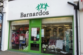 Barnardo's charity shop / Photograph: Alwyn Ladell, Flickr