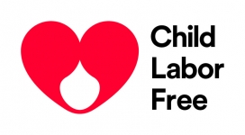 Child Labor Free banner and logo