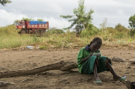 South Sudan has forced more than 2 million children to flee their homes. Photo: United Nations Photo
