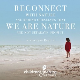 Everybody can take part of this network and share experiences on the forum.  Source: Children&Natura network