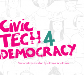 CivicTech4Democracy rewards projects that have successfully used digital tools to favour democracy.  Source: CivicTech4Democracy