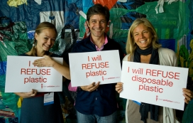 Individuals have also joined the Plastic Pollution Coalition. Photo: PPC