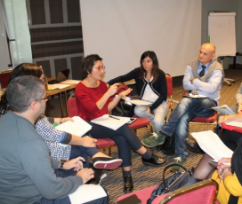 Group discussion at the 2015 CSVnet Conference / Photo: CSVnet