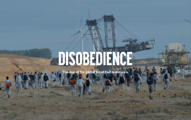 "The documentary ""Disobedience"" will be projected in the ESDW / Photograph: Capture of watchdisobedience.com"