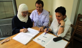 Sociolinguistic learning and learning program as an integration tool.