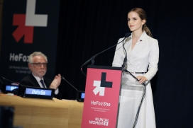 Emma Watson launched the campaign He For She. Photo: UN Women, Flickr