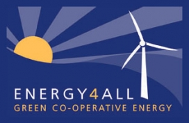 Energy 4 All Logo. Photo: Energy 4 All