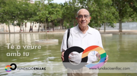 Image of the Campaign launched by the Fundació Enllaç in favour of the rights of the LGBTI community / Photo: Fundació Enllaç
