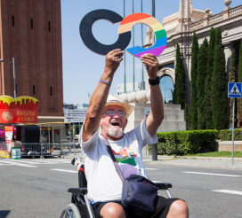 People who are dependent or elderly people are often forgotten about in the LGBTI community  / Photo: Fundació Enllaç