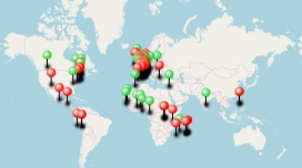 Events map. Image: Stop Poverty