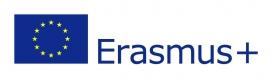 Erasmus + logo.