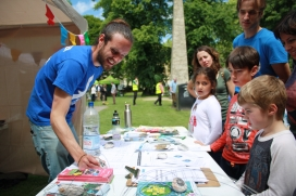 There are many different opportunities to get involved with the Festival of Nature through volunteering / Photo: BNHC