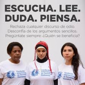Image of an International Human Rights Foundation's campaign