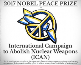 ICAN Campaign Logo. Photo: Nobel Prize