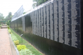 Names of the 250.000 Tutsis buried in the KGM