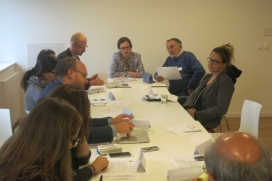 Discussing barriers with third sector networks that work at a European level / Photograph: Third Sector Impact