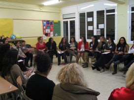 Members of the association at an activity this year / Photo: Associació gitana de dones Drom Kotar Mestipen