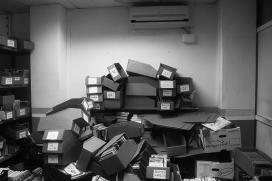 Llibre Solidari storehouse in Barcelona