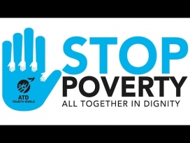 Logo from Stop Poverty. Image: Stop Poverty