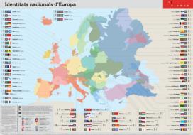 Map of European national identities. Photo: CIEMEN
