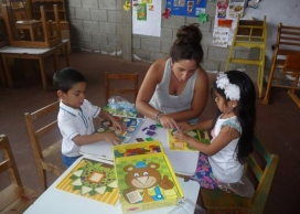 A volunteer project in Nicaragua.  Source: NGO Voluntariado