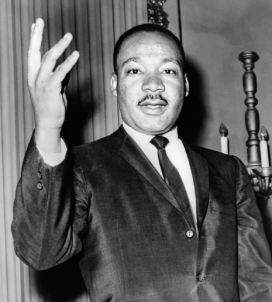 Martin Luther King was awarded the Nobel Peace Prize in 1964.