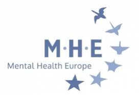 Logo de Mental Health Europe. Image: MHE