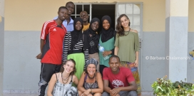 Students from the University of Lleida and the University of the Gambia doing clinical practicum  / Photo: Fisiàfrica