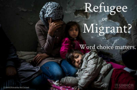 Refugee or Migrant?. Photo: UNHCR