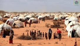 Refugee camp in Somalia / IHH Humanitarian Relief, Flickr