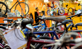 Bike for Good, a scottish project to reuse bicycles.     Source: Common Good First