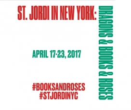 Saint George's Day in New York. Image: St Jordi NYC