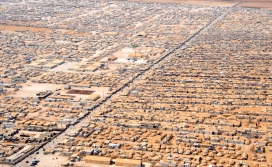 Refugee camp in Jordan / Photograph: Wikipedia