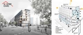 Balma, in Poblenou, Barcelona. A cooperative social housing by Sostre Cívic
