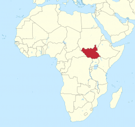 South Sudan map. Image: Wikimedia