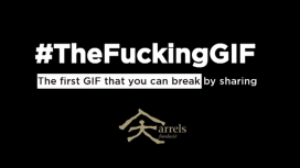 #The Fucking GIF, an Arrels Foundation campaign