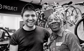 Jem Stein, CEO of The Bike Project and a refugee. Photo: The Bike Project
