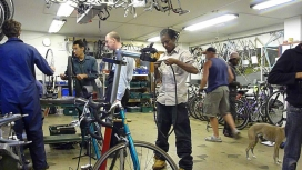 They repair second-hand bikes. Photo: The Bike Project